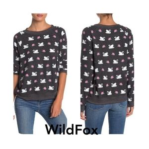 NWT Wildfox Swan Song Sommers Sweatshirt